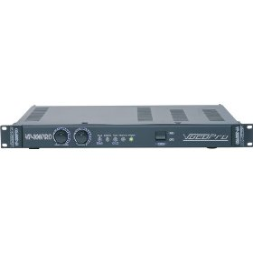 VocoPro  VP-300 PRO Single Space 300W Professional Power Amplifier