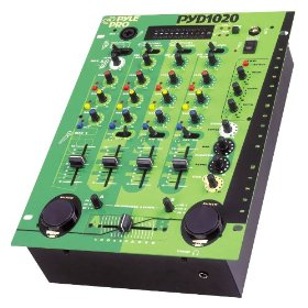 Pyle-Pro PYD1020 - 10'' Three Channel DJ Trick Mixer with Punch and Echo