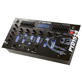 Pyle-Pro PYD1929 - 4 Channel Professional Mixer With Digital Echo