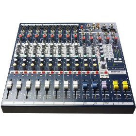 Soundcraft EFX8 8-Channel Mixer with 24-bit Lexicon Digital Effects