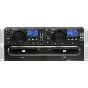 Gemini CDX-2200 2U Dual CD Player