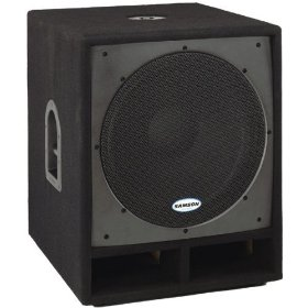 Samson SARS18S RS18S PA Subwoofer Cabinet 18 in. Driver