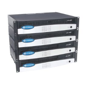 Crown Audio CTs-1200 CTs Series Amplifier with 600 Watt per Channel Amplifier 8/4/2 Ohm Loads or 70/140V Outputs