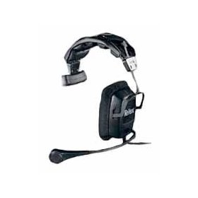 Telex PH1 Single-sided Medium weight Headset w/ A4F Connector for intercom