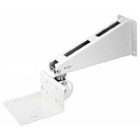 TOA HY-601W Wall Mount Swivel Bracket Designed for use with F-605WP Series Speakers, White