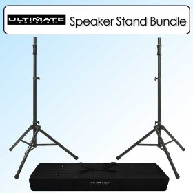 Ultimate Support Air-Powered Speaker Stand - TS-100B Bundle