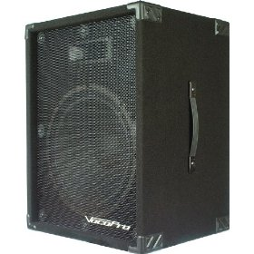 VocoPro PV-1800 400W Active Speaker with Built in Digital Echo Mixer Active 15 Vocal Speaker