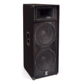 Yamaha S215V Carpeted Dual 15-inch 2 Way Loudspeaker