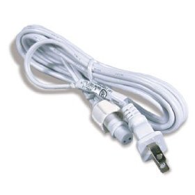 1/2 inch rope light power cord and connector