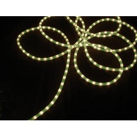 100' Lime Green Commercial Grade Christmas Rope Light On Spool