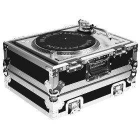 Marathon Flight Ready Case MA-1200B Heavy Duty Turntable Deluxe Case Fits Technics 1200 & All Other Brand Turntables Such As: Numark, Stanton