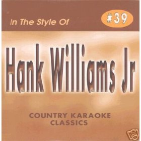 HANK WILLIAMS JR. Country Karaoke Classics CDG Music CD