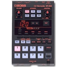 Roland Boss SP-202 Dr. Sample DJ Sampler