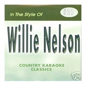 WILLIE NELSON Country Karaoke Classics CDG Music CD