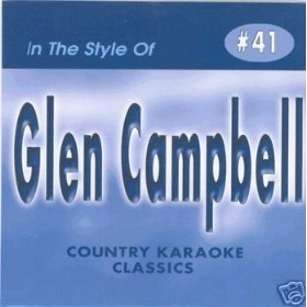 GLEN CAMPBELL Country Karaoke Classics CDG Music CD