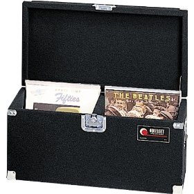 Odyssey CLP200P Carpeted Pro Lp Case With Recessed Hardware For 200 Vinyl Lp's