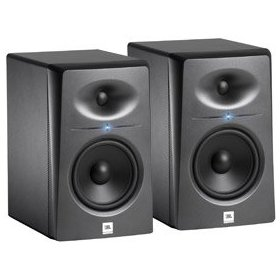 JBL LSR2325P Pair of Bi-amplified Studio Monitors
