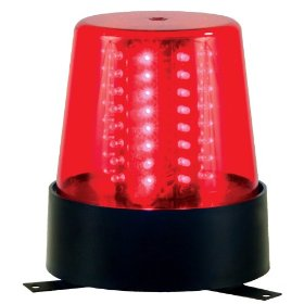 American DJ B6RLED Red LED Beacon with Variable Speed and Beam Rotation