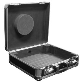 Marathon Elight Series MA-Ett Bk Turntable Case Holds 1 1200 Style Turntable Light Duty - Black