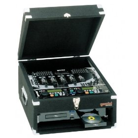 Gemini MRC Professional DJ Case (10 Space Top - 2 Space Bottom)