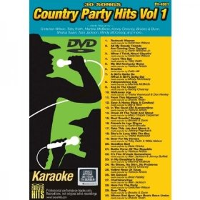 Forever Hits 4901 Country Party Hits Vol 1 (30 Song DVD)