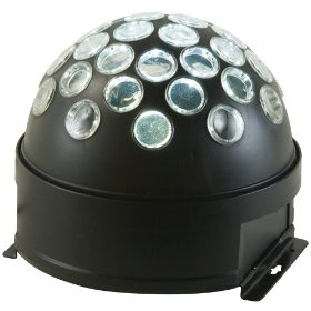 American DJ Starball LED Powered Mirror Ball Effect Self Contained