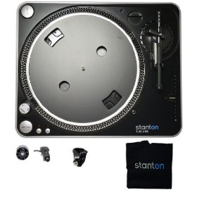 Brand New Stanton T.55 USB Turntable Vinyl to Mp3 Recorder Bundled with Software, Cartridge, and Everything You Need!