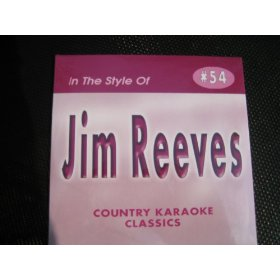 Country Karaoke Classics CDG All Hits of JIM REEVES
