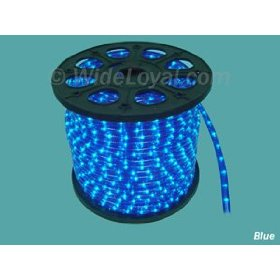 Blue Instant Flexilight 1/2 inch Rope Light 18 Ft Pack