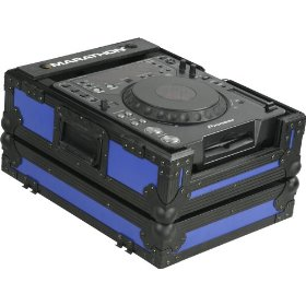 Marathon Flight Ready MA-CDJblkblue Blue Black Series Case for Pioneer CDJ1000/CDJ800, Denon Dn-S3500/Dn-S3700, and Large Format CD/Digital Turntables