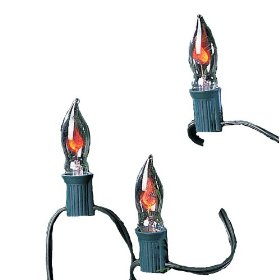 Kurt Adler UL0702 Flicker Flame Light Set, 10 Light