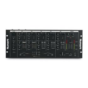 5 Channel Mixer with DJ Microphone Control