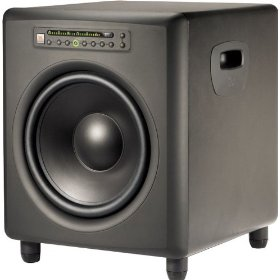JBL LSR4312SP Powered Studio Subwoofer (12 inch, 450 watt)