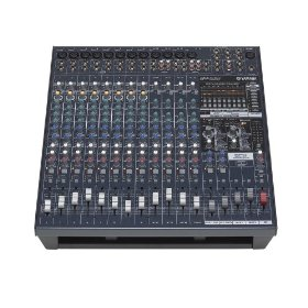 Yamaha EMX5016CF 16 Input Powered Mixer with Dual 500 Watt Power Amplifier