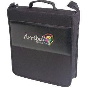 Arriba Cases AL-200 Durable CD DVD Travel Case