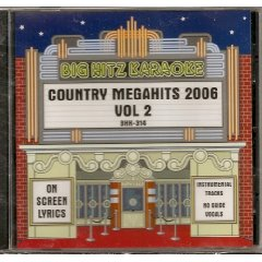 Big Hitz COUNTRY MEGAHITS 2006 Vol.2 Karaoke CDG MALE and FEMALE Hits