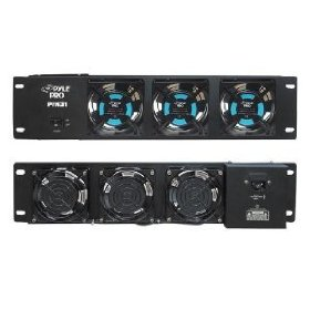 Pyle-Pro PFN31 Super Cool 19-inch Rack Mount Cooling Fan System