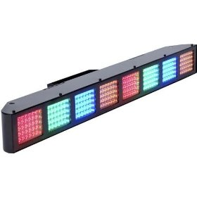 American DJ Color Burst 8 DMX 8 Pixel Bank  LED Color Bar
