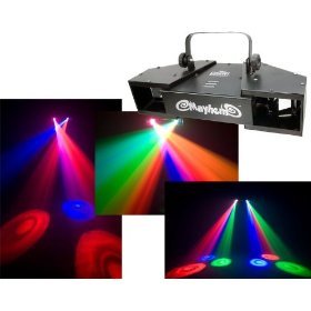 Chauvet Mayhem 7-Ch DMX Dual Rotating LED Scanner Effect