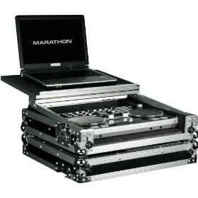 Marathon Flight Ready Case MA-Vcilt Case To Hold 1 X Vestax Vci-300 Music Controller + Laptop Shelf