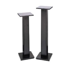 RaXXess Economy Speaker Stands (42 in. Tall, Black Oak) (Pair)