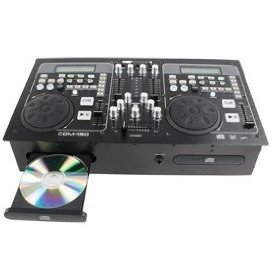 Dual Dj CD Player with Mixer