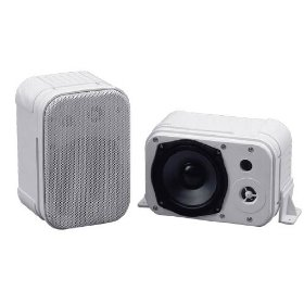 Pyramid 4071WP 400 Watts 5-Inch 2Way Indoor/Outdoor Waterproof Speaker System