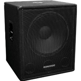 Marathon B-18X Single 18-Inch Subwoofer System