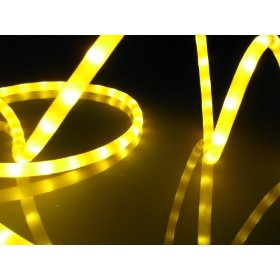 10Ft Rope Lights; Golden Yellow LED Rope Light Kit; 1.0