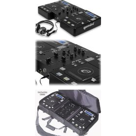 Gemini Disc-O-Mix 5.0 Dual CD-Player Mobile DJ Package