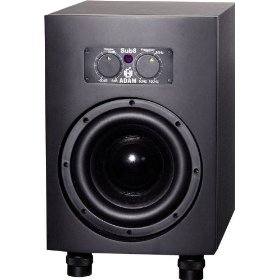 ADAM Audio Sub8 Powered Studio Subwoofer, Black