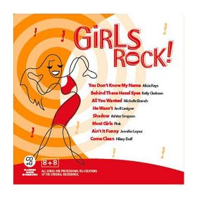 Girls Rock! Karaoke CD