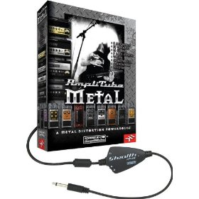 IK Multimedia AmpliTube Metal Studio Software/ StealthPedal USB Audio Interface Package