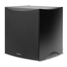 Atlantic Technology 422SB-BLK Powered Subwoofer (Satin Black)